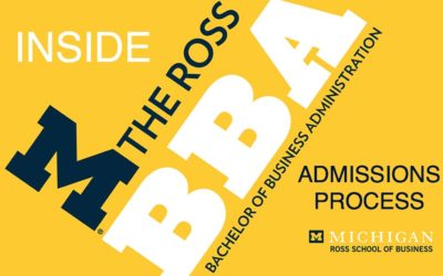 Inside the Revised Ross BBA Admissions Process